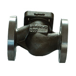 carbon steel precision hot water stop valve