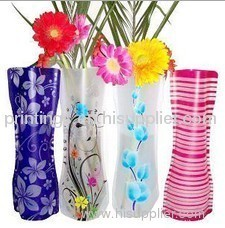 Heat transfer film for vase