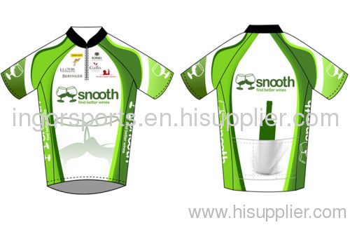 Custom Short Sleeve Half Zip Racing Bicycle Jersey Team Sublimated Cycling  Wear 91f61d9cd