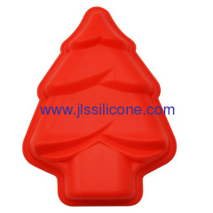 Mini Christmas tree silicone muffin cake bake pan