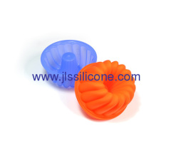 Fashion silicone budnt cake baking molds