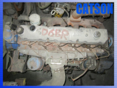 Hyundai D6BR engine assy