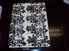 Fashionable new design PVC/PET/PP/PS material plastic flocking tray