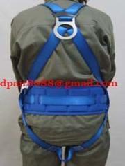 Lineman safety belt sheets
