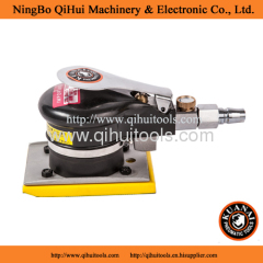Rectangle Type pad Air Orbital Sander 0.7kg weight 75*75mm pad