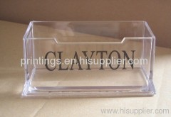 Heat transfer film for name card case
