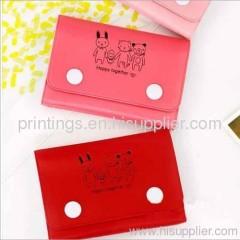 Heat transfer film for card case