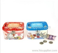 Coin bank hot stamping foil