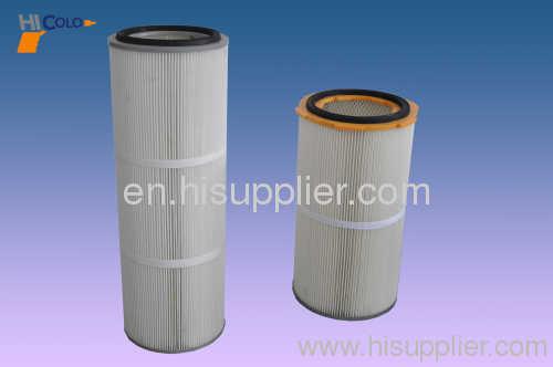 cartridge filter for powder coating