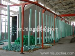 powder coating system design and custom-made