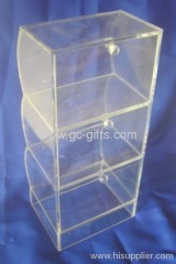 Easy-assembling clear of acrylic storage box