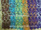 African Voile Guipure Lace Fabric Embroidered For Ladies Skirts