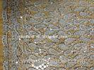 51-52 Inch Guipure Lace Fabric Vintage , Guipure Lace Trim