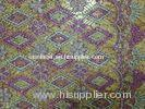 Embroidered Stretch Guipure Lace Fabric By The Yard For Curtain