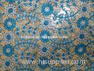 Chemical Guipure Lace Fabric Embroidered , 100% Cotton Lace