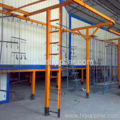 automatic paint coating drying oven