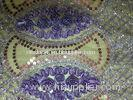 Chiffon Evening Dresses Sequin Embroidered Fabric Shrink-Resistant