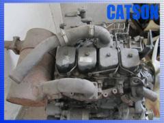 Komatsu PC120-6 6D102 engine assy
