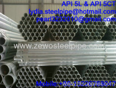 GALVANIZED STEEL PIPE SUPPPLIER