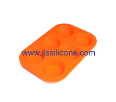 Round shaped bakeware silicone cake baking tray or soap mould