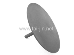 Titanium mmo disk anode for ship
