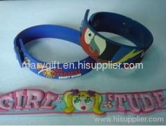 custom design PVC wristband