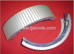 Manufacture of Platinized Titanium Anode