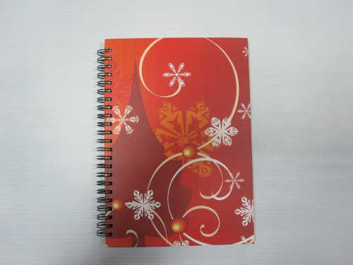 A5 single subject hardcover double spiral notebook college ruled