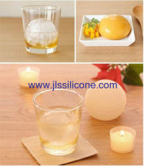 Whisky ice rounds silicone ice ball maker