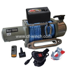SYNTHETIC ROPE WINCH 16800LBS