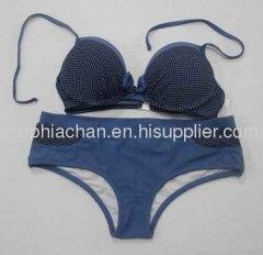 Navy Blue Sweet Style Bikini