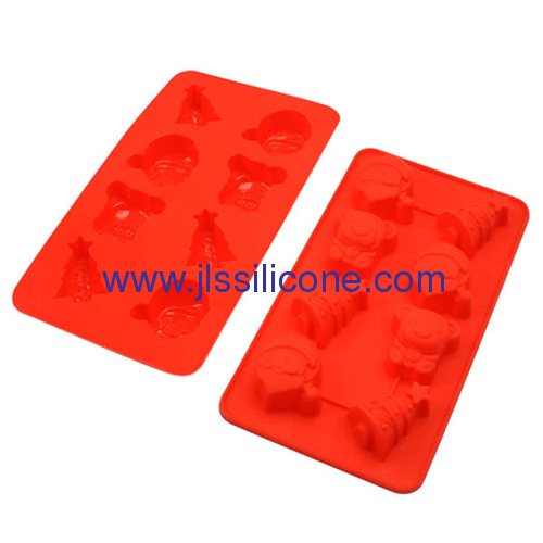 animal shaped silicone chocolate pudding and ice maker tray