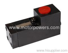 hyperpressure pilot operated check valves