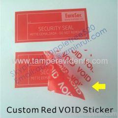 Matt Tamper Evident VOID Seal Stickers