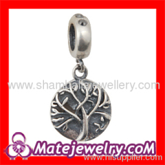 Sterling silver Dangle beads charms