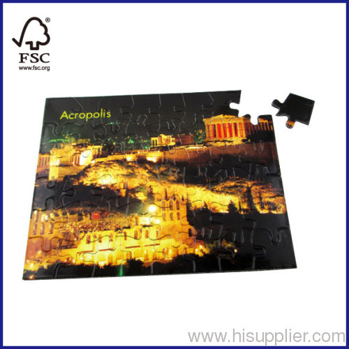 48pcs landscape magnetic puzzle