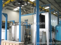powder coating line for computer shell