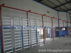 Powder Coating Line For Guardrail