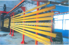 Aluminum Profile Vertical Powder Coating Line