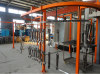 Plant Automatic Powder Coating Line System For Aluminum Sheets