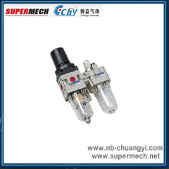 SMC type Air Filter Combination air filter regulator and lubricator
