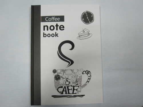A5 hardcover hardbound notebook college ruled good quality