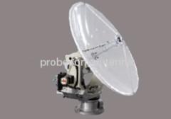 0.9m parabolic vehicle mounted antenna