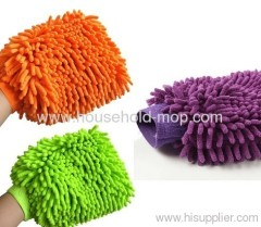 chenille car cleaning microfiber glove