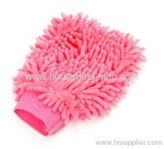 microfiber chenille car washing mitt