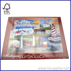 500pcs lighthouse floor puzzle