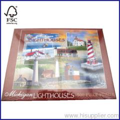 500pcs lighthouse floor puzzle