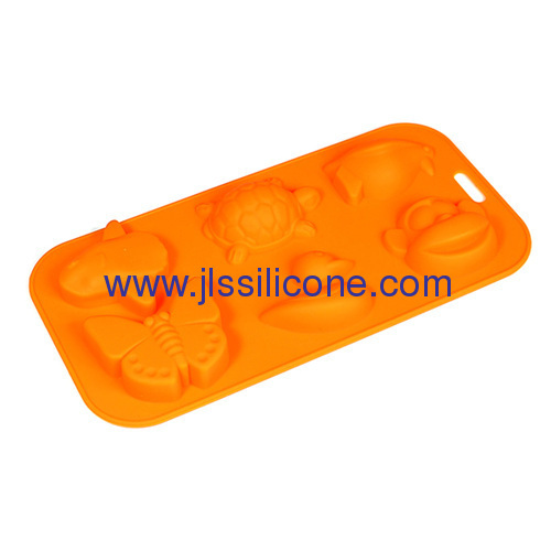 creative animal shaped silicone chcolate molds and ice cube tray