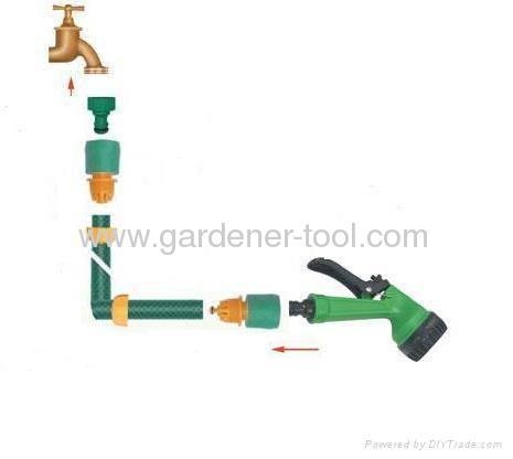 How to hose a garden