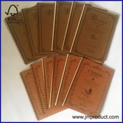 recycle cover note book